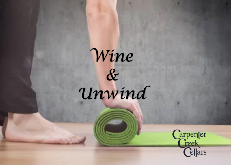 wine and yoga